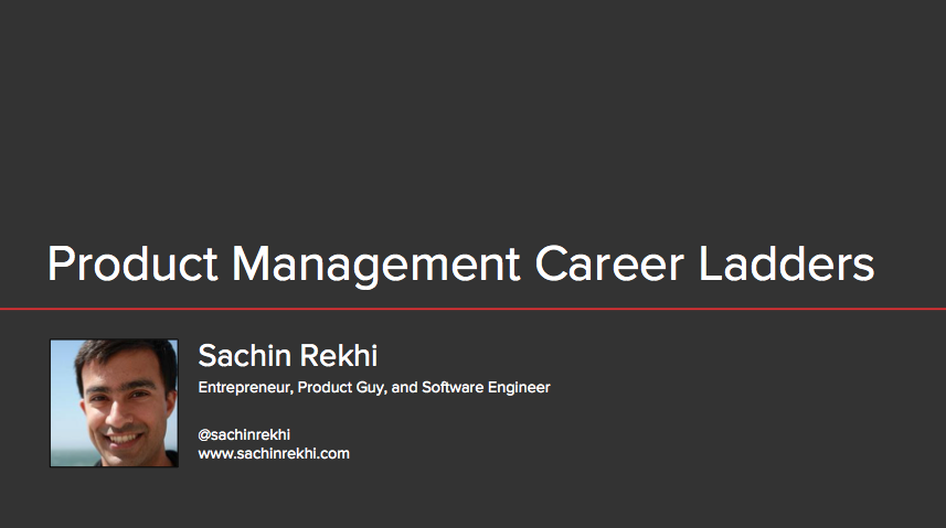 Mahor Technology Management: Product Management Career Ladders At 8 Top Technology